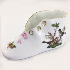 Herend Porcelain of Baby Shoe  - Rothschild